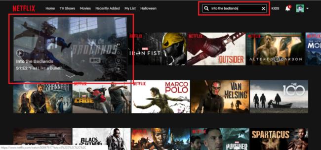 Netflix with a VPN