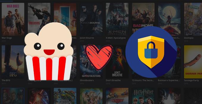 best free VPN for popcorn time